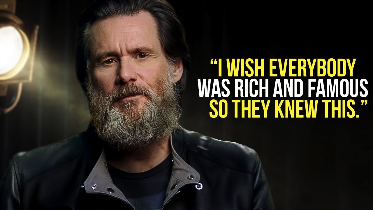 Jim Carrey Leaves the Audience SPEECHLESS | One of the Best Motivational Speeches Ever