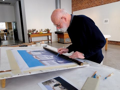 Robert Bechtle at Crown Point Press, 2011 (5 minutes)