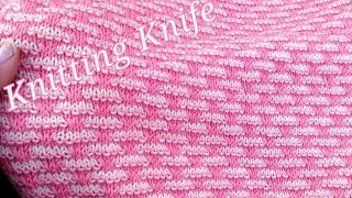 Elegant Two Colours Knitting Pattern for Kids Wear, Gents Sweaters, Ladies Cardigans, Hindi/English