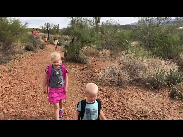 Black Canyon City trail, hiking with kids
