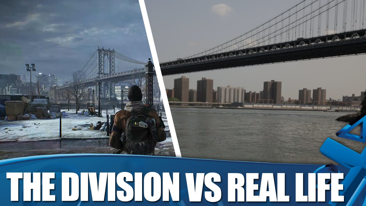 The Division Vs Real Life - New York locations