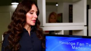 "Madeleine Stowe Answers ""Revenge"" Fan Questions"