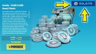 Fortnite Llama Buys 50,000 V-Bucks! Lol