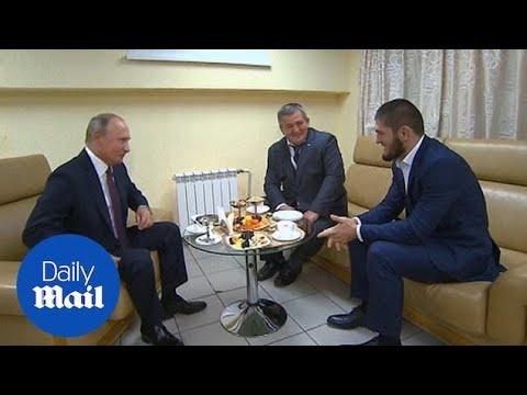 Vladimir Putin congratulates Nurmagomedov over McGregor win