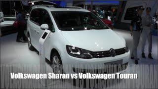 Volkswagen Sharan 2015 vs Volkswagen Touran 2015