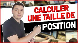 COMMENT CALCULER UN LOT EN TRADING ?