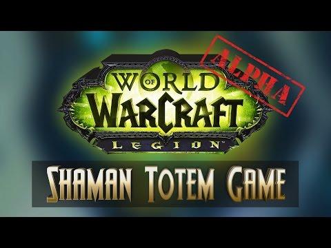 Shaman Totem Game - WoW Legion Order Hall
