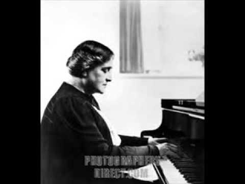 Myra Hess plays Franck Symphonic Variations