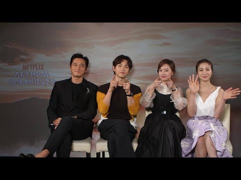 Q&A With The Lead Cast Of Netflix' Newest Drama, 'Arthdal Chronicles'