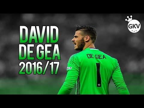 David De Gea 2016/2017 ● HD