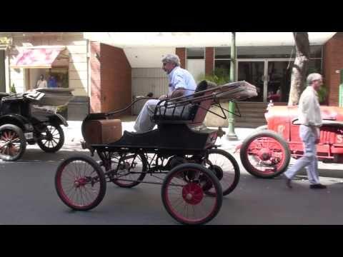 Antique Car Show Ricoletta Area City Living Buenos Aires Argentina