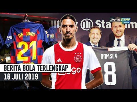 Ibrahimovic Pulang Ke Ajax 😱 RESMI De Jong Pakai No 21 & Ramsey Pakai No 8 🔥 Berita Bola Terbaru