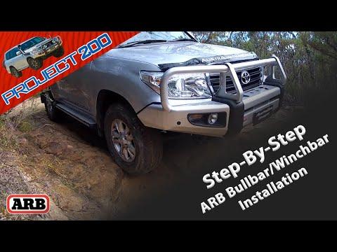 Land Cruiser 200: ARB Bullbar Step-by-step Install