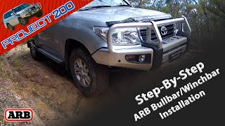 Choosing a bullbar for your LandCruiser 200, with a complete step-b...