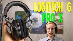 HYVÄT PELIKUULOKKEET, PAREMPI MIKKI! - Logitech G Pro X Arvostelu