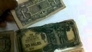 MONEY(OLD MONEY)(JAPAN & MALAYSIA)