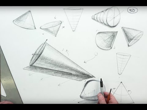 THE BASICS: The Cone & Pyramid-Control with Confidence in Drawing