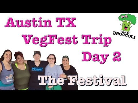 Austin TX | VegFest Trip | Day 2 | The Festival | Ep:1012