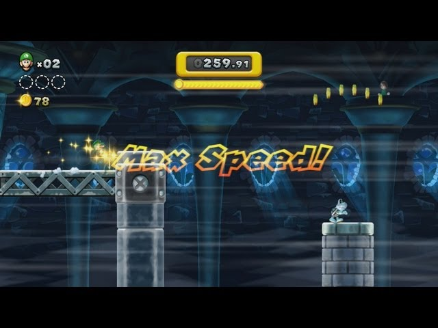 How Fast Does Boost Rush Mode Get in New Super Mario Bros. U?