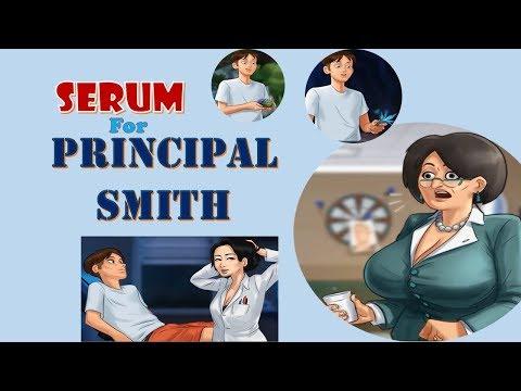 Summertime Saga V.017 Okita : Serum For Principal Smith