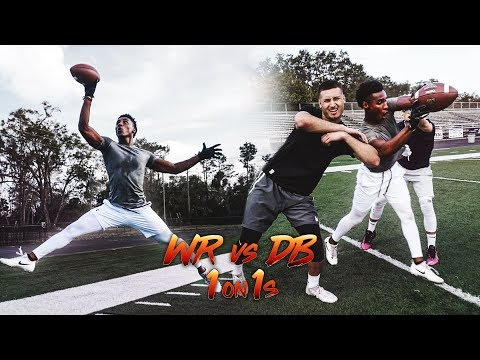 THEY GOT EXPOSED!! WR VS DB 1ON1S
