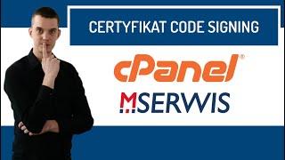 Jak zamówić certyfikat Code signing w MSERWIS?