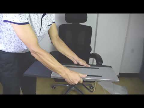 OK-030 Chair Laptop Keyboard Stand Install Video