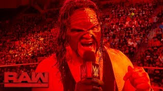 Kane reflects on his Big Red attack on Braun Strowman at WWE TLC: Raw, Oct. 23, 2017 thumbnail