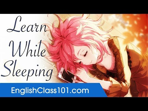 Learn English While Sleeping - Improve Your Pronunciation with Basic English