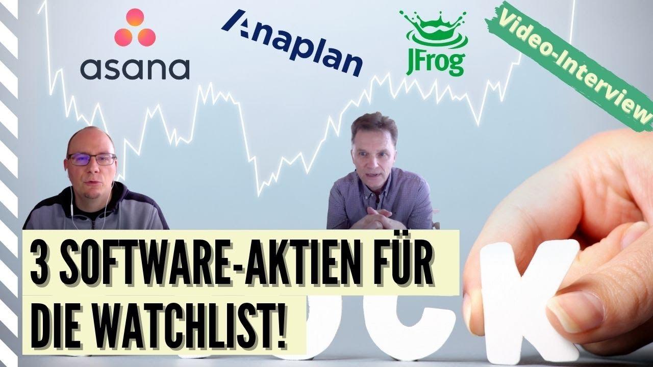 """""""HGI meets Finanzrocker"""" - Video zu den SaaS-Aktien Asana, jFrog und Anaplan"""