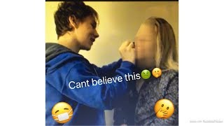 BOYFRIEND DOES MY MAKEUP *funny*