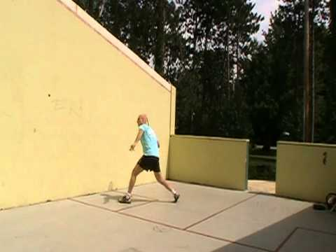 Squash - outdoor court built by Steven Polli