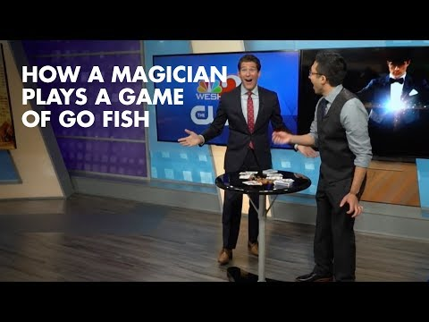 How A Magician Plays A Game Of Go Fish