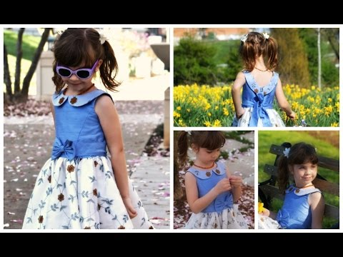 How to sew a dress for girls  Vivienne