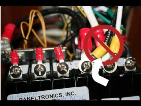 Ac Disconnect Wiring Adding A 30 Amp Shore Power Panel To Your Boat With