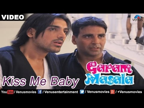 Kiss Me Baby Full Video Song : Garam Masala | Akshay Kumar, John Abraham |