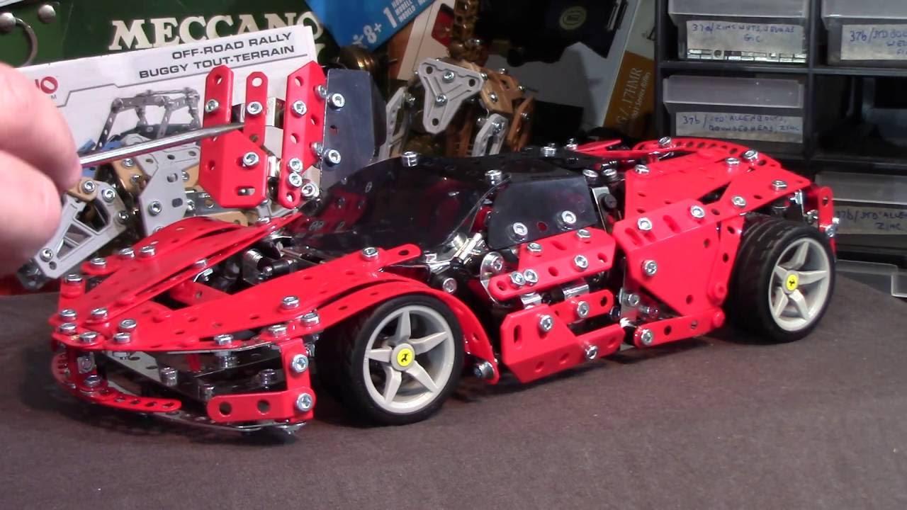 Meccano Maker System La Ferrari 2016 Post Build Review