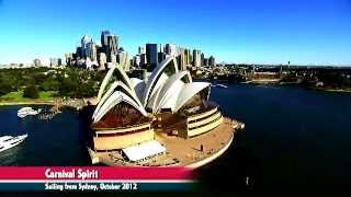 Cruise Director Stu Dunn's tour of Carnival Spirit