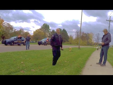 Fly Drone Over Prison, Police Bring Us Surprise - Lapeer MI