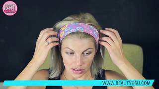 видео Как носить повязку для волос?