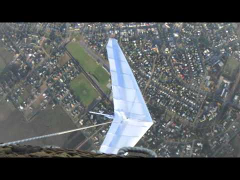 Hot Air Balloon Hang Glider Drop Easter 2011 - Day 1
