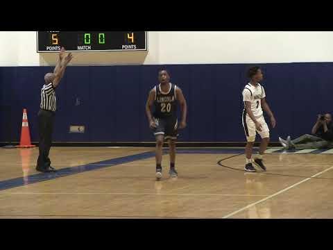 PSAL Boys AA Basketball Quarterfinals Abraham Lincoln v  Wings Academy Highlights