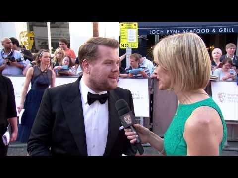 James Corden - BAFTA Television Awards Red Carpet in 2014