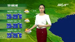 VTC14 | Thời tiết 12h 02/11/2017| ATNĐ đã mạnh lên thành bão, Tây Nam Bộ tiếp tục mưa to