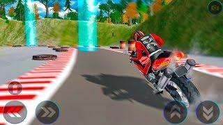 Moto Extreme Racer: Bike Stunt Rider - heavy bike stunt game - Gameplay Android game