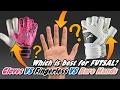 WHICH IS BEST? Gloves Vs. Fingerless Gloves Vs. Bare Hands - FUTSAL