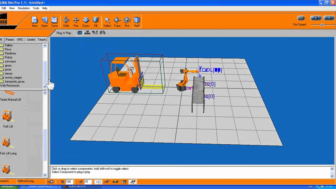 Video tutorial robot kuka youtube for Programa para crear habitaciones virtuales