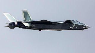 Çin'in geliştirdiği J-20 savaş uçakları ilk kez görücüye çıktı - world