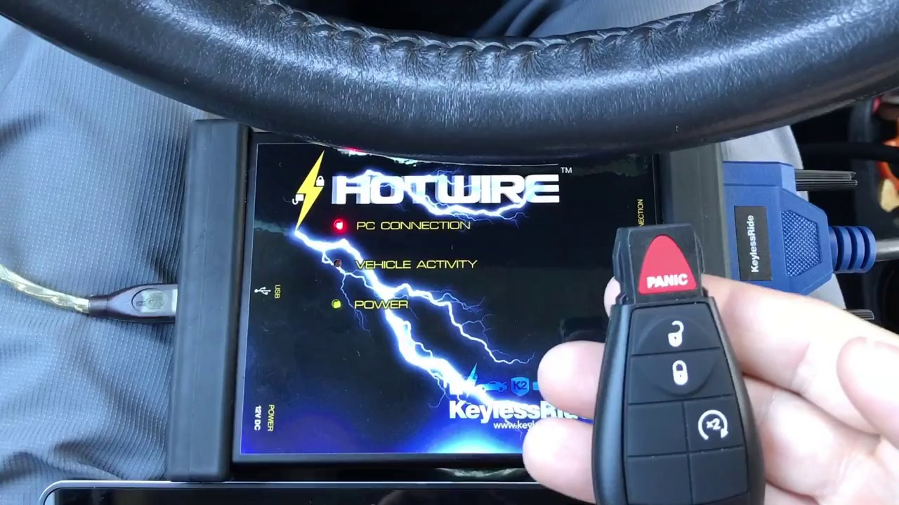 Hotwire Key Programming For 2011 Dodge Durango Youtube