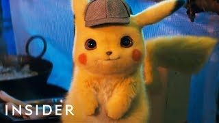 How Pokémon Were Brought To Life In 'Detective Pikachu'